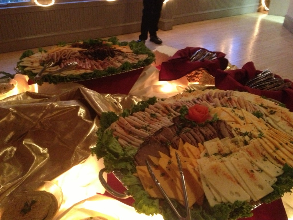 Lunch buffet catering