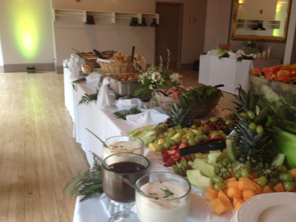holiday party catering