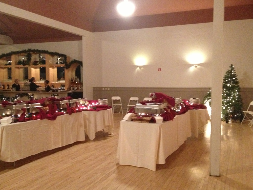 holiday party catering services