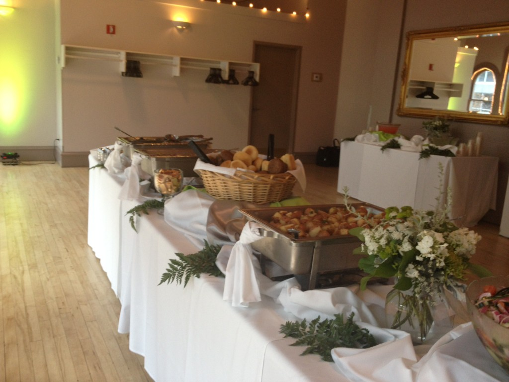 dinner buffet catering services