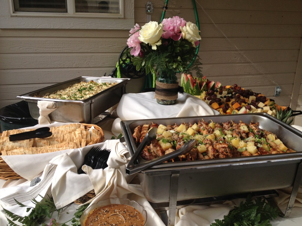 dinner party catering events boise