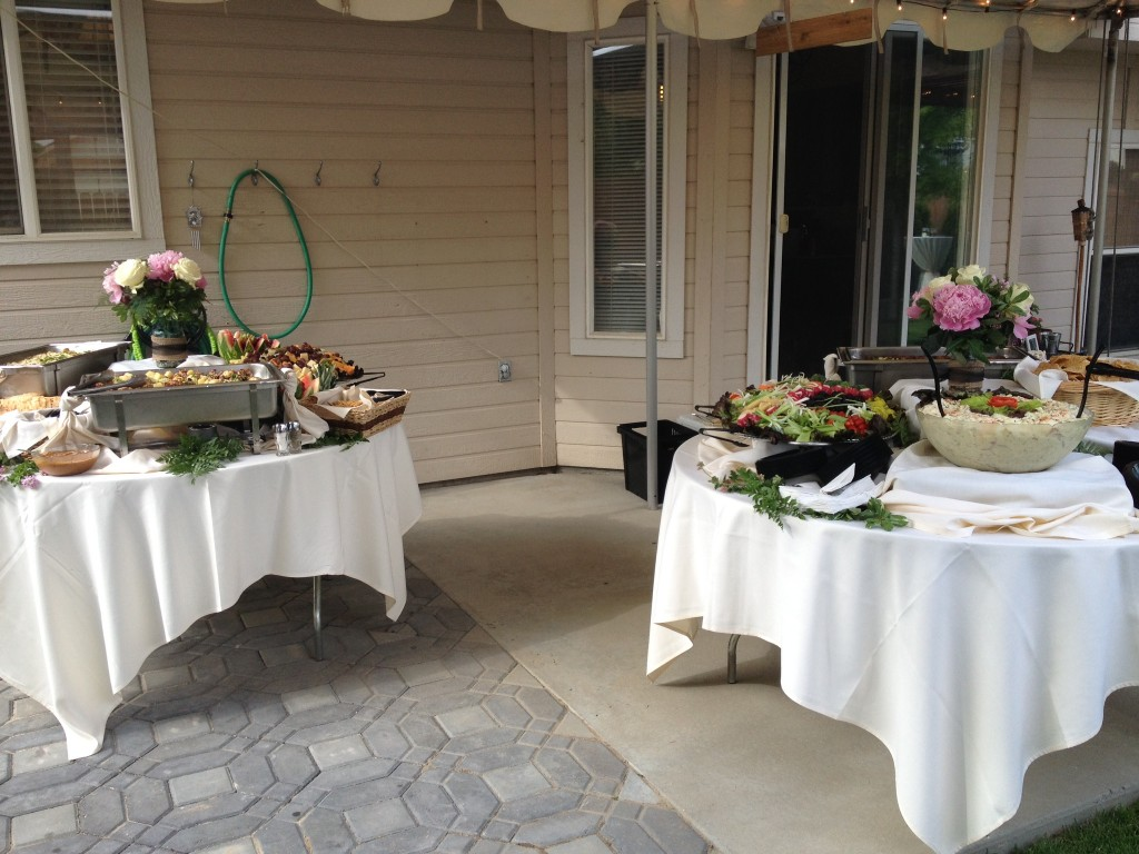 dinner party events boise catering