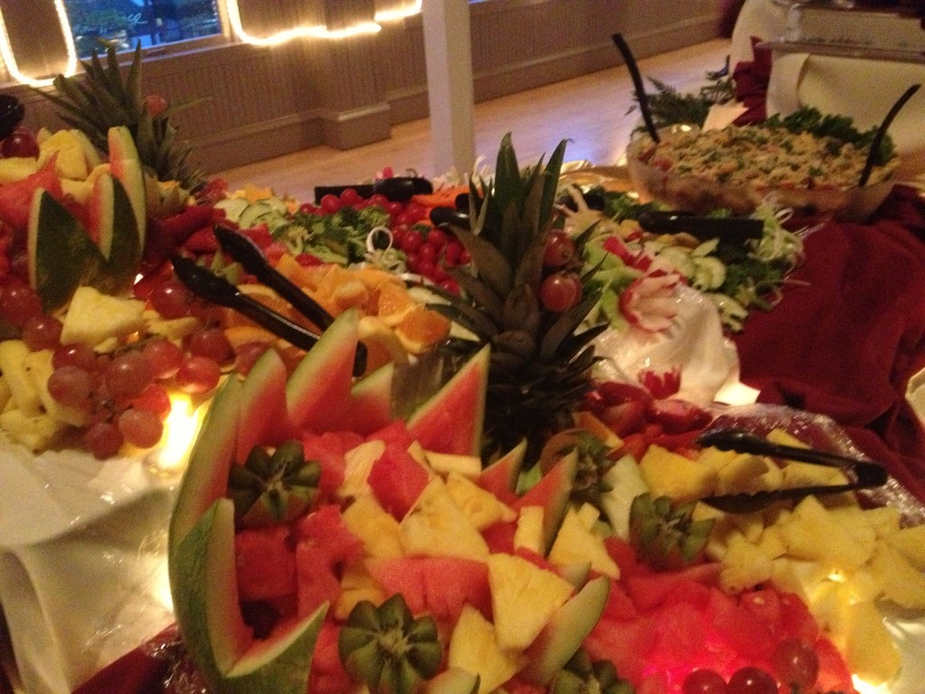 formal dining catering