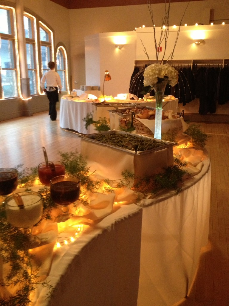 formal dining luncheon corporate events