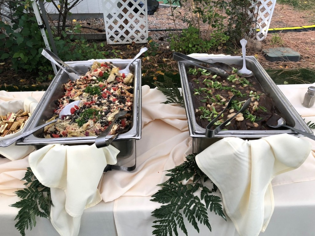 Outdoor Wedding Catering Food