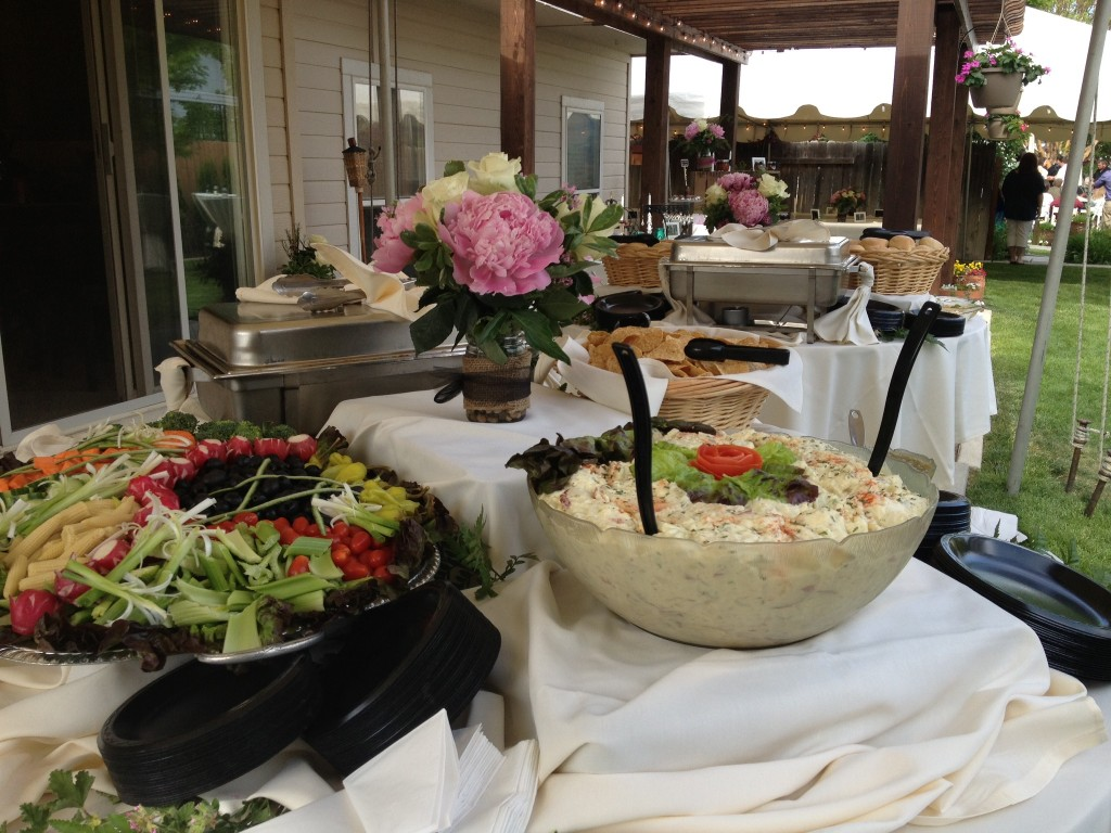 luncheon buffet off premise catering boise